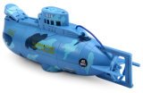 5933311-Sea Wing Star 40MHz 3CH RC Racing Submarine avec de l'eau Resistance Transmitter