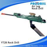 Foret de roche pneumatique d'entremise d'air de Yt24 Yt27 Yt28 Yt29A