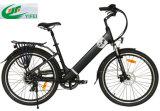 bicyclette électrique de ville de batterie cachée par 36V
