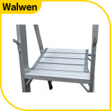 Qualitäts-Aluminiumjobstep-Plattform-Strichleiter mit Standard En131