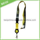 Acollador modificado para requisitos particulares tejido alta calidad con el clip disidente de la insignia
