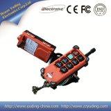 À télécommande sans fil de la distance 220V de contrôle de la Manche 433MHz 100m de Telecrane F24-6s/D 6 de prix usine