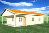 Casa moderna pré-fabricada clara da construção de aço (KXD-V7)