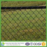 Arame farpado seguro galvanizado da parte superior da cerca da ligação Chain do limite