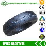 100/90-10 neumáticos de la vespa del descuento de la marca de fábrica de China para la venta