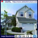 Дом виллы стальной структуры датчика света хорошего качества