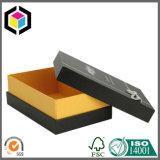 Коробка лоснистого подарка картона логоса пятна UV твердого бумажная