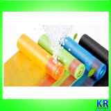 Sacs de détritus en plastique de Drawtape de HDPE avec le traitement