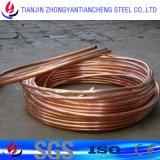 Tubulação C11000 E-Cu58 do cobre do calefator de água no estoque de cobre da tubulação