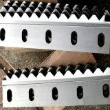 Длиной прямо лезвие ножниц для тонколистовой стали вырезывания