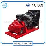 Pompe industrielle à fort débit de double aspiration de moteur diesel