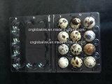 Imballatore di plastica dei fori del cassetto 24 dell'uovo di quaglie della bolla della copertura superiore
