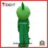 Charactors feito-à-medida traje verde da mascote da planta do zombi