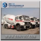 12立方Beiben 6X4 Concrete Mixer Truck