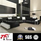 2016 sofà di cuoio elegante Jfu-5