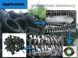 LKW-Reifen, der sortierende Maschine zerreißend aufbereitet