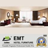 Les meubles en bois de meubles de pièce de bâti d'hôtel ont placé (EMT-A07)