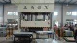 Piel de la puerta que graba la máquina de la prensa hidráulica