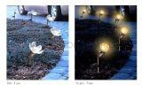 Animated solar Flower Light para o jardim
