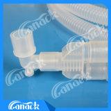 波形を付けられる使い捨て可能な生殖不能PPおよびエヴァの麻酔の呼吸回路