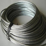 Ungalvanizedワイヤーロープの高炭素の鋼鉄ロープ