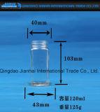 Quadratisches bleifreies Glasglas-Stau-Glas für Speicherung