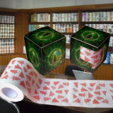 Крен ткани ванной комнаты туалетной бумаги печатание Machinrey изготовленный на заказ напечатанный