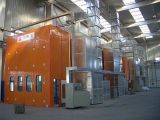 La nuova cabina di spruzzo progettata per l'automobile, vernice e si asciuga, la tecnologia dall'Italia