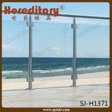 オーストラリアの標準ステンレス鋼の海洋の等級のバルコニーのガラス柵