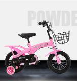 El entrenamiento rueda la bicicleta del niño de la rueda de los niños de las bicis de los cabritos