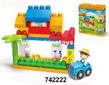 Воспитательные игрушки. Самое популярное смешное, пластмасса ягнится строительный блок игрушек (414526)