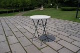 Sales caldo Modern Durable 110cm Height 80cm Round Samll Plastic Folding Bar Cocktail Tables per Events /Banquet /Party