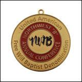Nwb 금속 메달, 금속 명칭 메달 (GZHY-JZ-029)