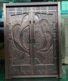 Porta de cobre de Luxus