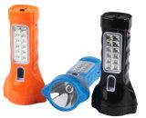 再充電可能な太陽LEDのファンランプ、携帯用ファンランプ