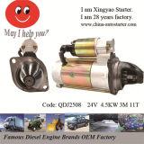 démarreur de moteur diesel de cylindre de Muti de réduction de 24V 4.5kw