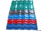 Гофрированный материал толя стальной плиты Astma653 гальванизированным настилающ крышу лист 0.12-0.8mm