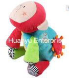 Brinquedo enchido do animal da atividade das crianças do luxuoso