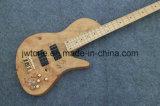 Установите в гитару шнура качества 4 шеи электрическую басовую