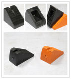 Schwarzer Gummikeil, Auto-Gummikeil, Gummiblock, Gummistopper, Rad-Keil-Gummi-Stopper