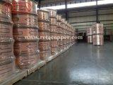 Het niveau verwondt Buis van het Koper van de Airconditioning van de Rol ASTM B280 ASTM B68 de Zachte