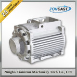 De encargo a presión el disipador de calor de aluminio de la fundición para el compartimento del motor eléctrico de la C.C.