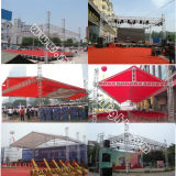 Exhibition System를 위한 옥외 Stage Roof Truss Design