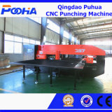 Poinçonneuse hydraulique de commande numérique par ordinateur d'index automatique de 4 Aixs avec la machine proche de /Punch de bâti