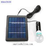 Da barraca solar da bateria da carga do diodo emissor de luz luz solar de acampamento recarregável do diodo emissor de luz