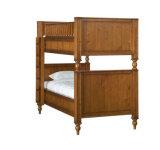 米国式の純木の二段ベッドの子供の二段ベッド(M-X1004)