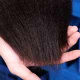 Нарисованный двойник выдвижения волос сплавливания Remy конца ручки кератина я наклоняю волос девственницы стренги выдвижений 1g человеческих волос Kinky прямые