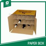 Cartons d'expédition de vin de qualité avec des diviseurs