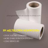 medias normaux de filtre à air de Nonwovens de 15GSM M6 pp Meltblown