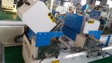 A estaca do perfil do PVC considerou/cabeça que gêmea cortar considerou a máquina